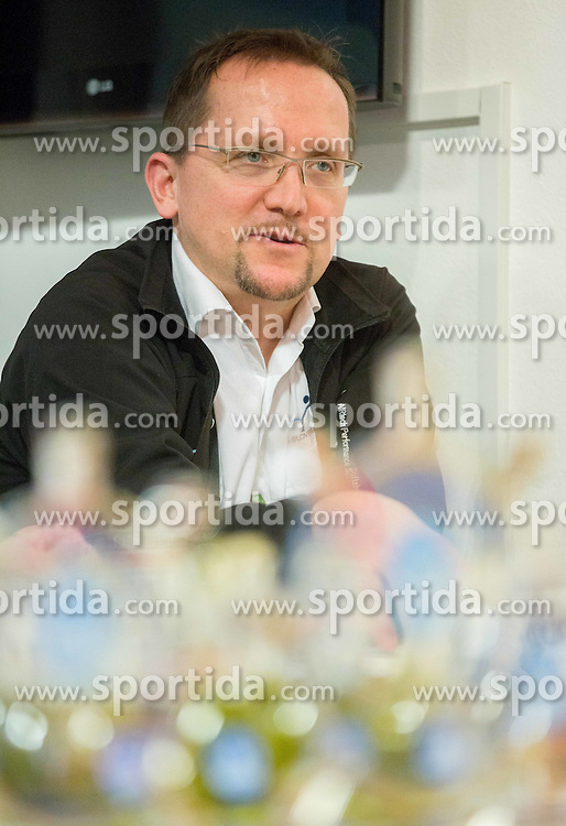 Martin Hvastija during press conference of Slovenian Cycling Federation about UCI Continental professional race Grand Prix of Izola and new cycling season, on February 28, 2015 in Izola / Isola, Slovenia. Photo by Vid Ponikvar / Sportida