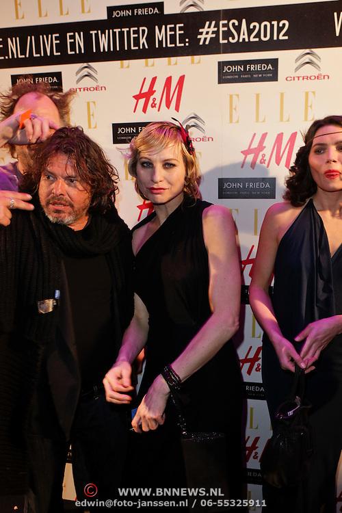 NLD/Amsterdam/20120112 - Elle Style Awards 2012, Afke Reijenga en ………….