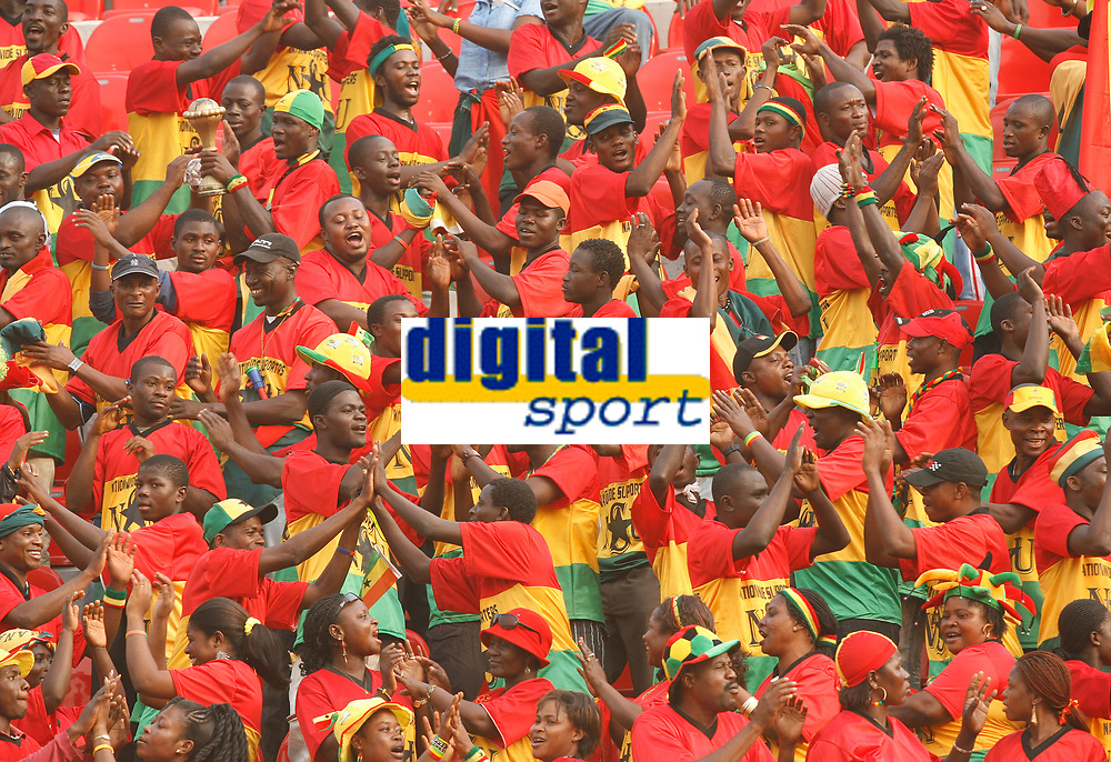 Photo: Steve Bond/Richard Lane Photography.<br /> Ghana v Morocco. Africa Cup of Nations. 28/01/2008. Ghana fans