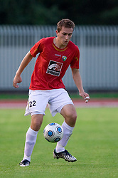Nikola Tolimir of Rudar at 1st Round of Europe League football match between NK Rudar Velenje (Slovenia) and Trans Narva (Estonia), on July 9 2009, in Velenje, Slovenia. Rudar won 3:1 and qualified to 2nd Round. (Photo by Vid Ponikvar / Sportida)