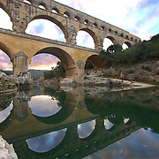 Standing over 50 meters high and majestically over the Gardon River, the Pont du Gard dates back to the 1st century AD, and this 3-level bridge is the most famous Roman aqueduct in the world, and the largest free standing Ancient Roman structure outside of Italy to this day. Floating under it is still a popular pastime, as the clear water invites swimmers during warmer weather.