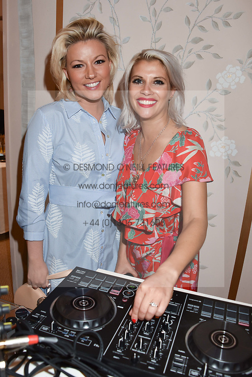 Natalie Rushdie and Pips Taylor at the launch of the Beulah Flagship store, 77 Elizabeth Street, London England. 16 May 2018.