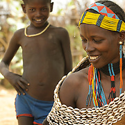 Hamer Tribe, Omo River Valley, South Ethiopia, Africa