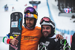 FISCHNALLER Roland and FELICETTI Mirko (ITA) during FIS alpine snowboard world cup 2019/20 on 18th of January on Rogla Slovenia<br /> Photo by Matic Ritonja / Sportida