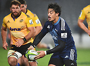 Ben Lam during the Super Rugby match between The Blues and Hurricanes at Eden Park in Auckland, New Zealand. Saturday 23 May 2015. Copyright Photo: Andrew Cornaga / www.Photosport.co.nz