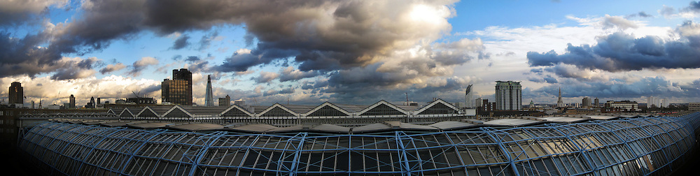 With so much of my time spent at work, the view out of the window can seem a little dull. <br /> So here is a dramatic view over Waterloo.<br /> <br /> The EPSON International Pano Awards 2012<br /> BRONZE AWARD<br /> Amateur: The Built Environment<br /> (including architecture)<br /> Score: 75