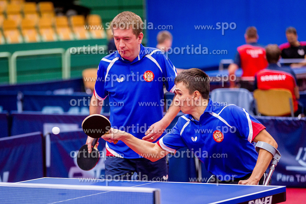 RUSSIA (ESAULOV Alexander and KHUSNULLIN Timur) during day 4 of 15th EPINT tournament - European Table Tennis Championships for the Disabled 2017, at Arena Tri Lilije, Lasko, Slovenia, on October 1, 2017. Photo by Ziga Zupan / Sportida