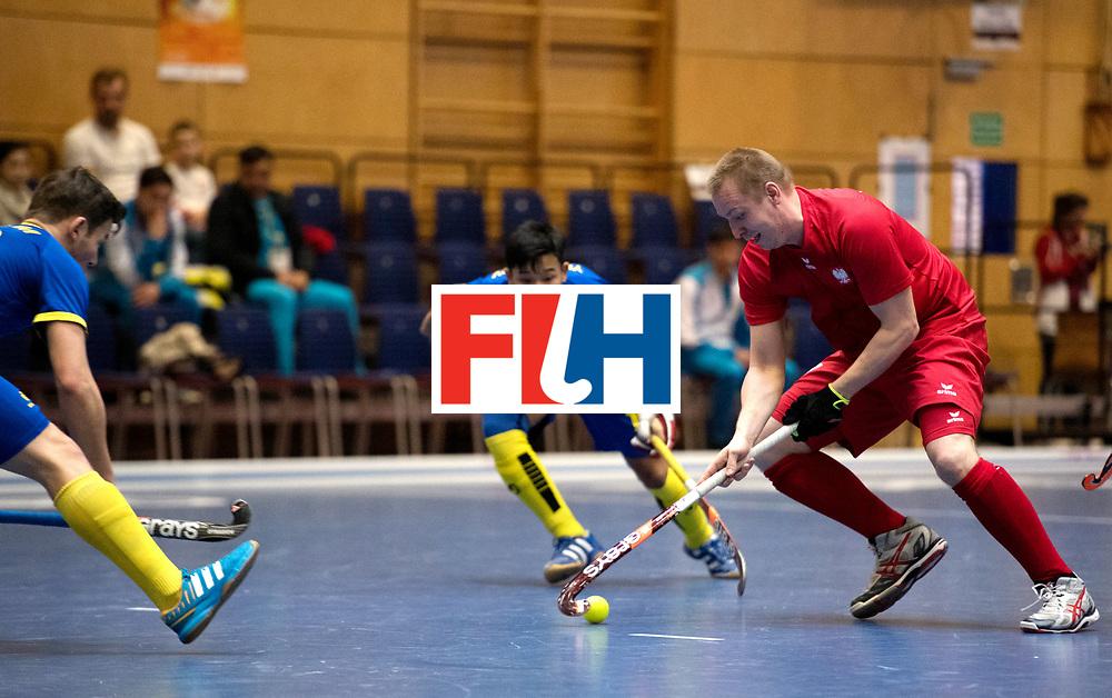 BERLIN - Indoor Hockey World Cup<br /> Kazakhstan - Poland<br /> foto: MAKOWSKI Krystian.<br /> WORLDSPORTPICS COPYRIGHT FRANK UIJLENBROEK