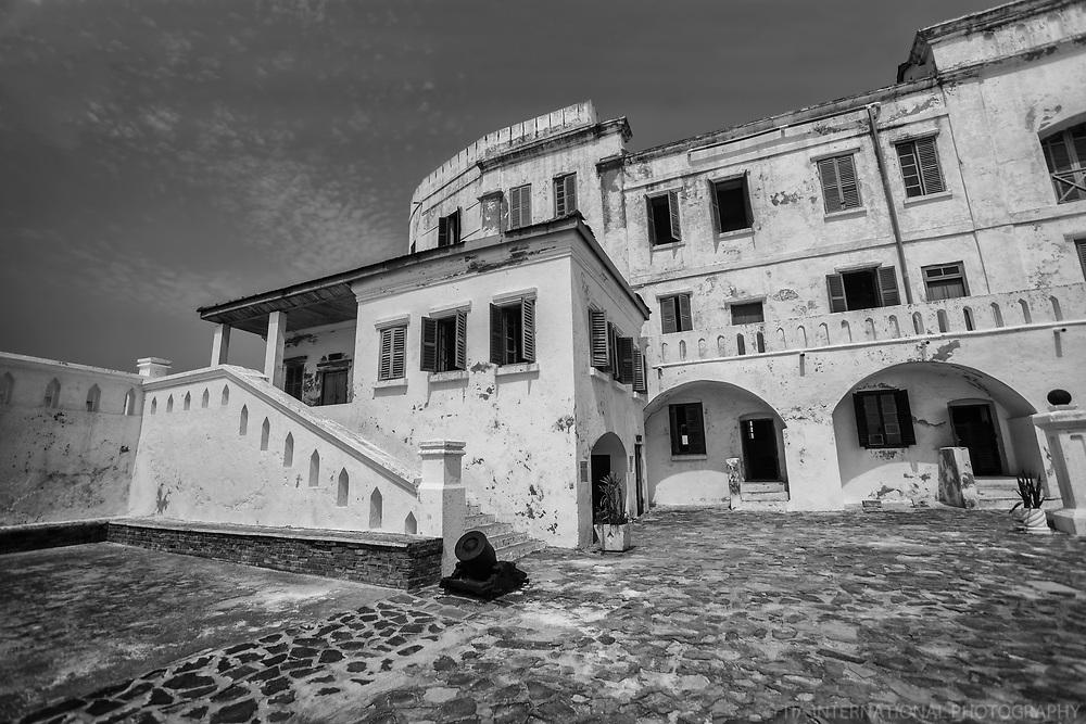 Courtyard, Cape Coast Castle