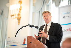 13 September 2017, New York, USA: On Gathering at the Yale Club in New York on 13 September for an interfaith prayer breakfast, faith leaders from a multitude of religions came together to support a coordinated faith-based effort in responding to HIV. The event was hosted by the World Council of Churches–Ecumenical Advocacy Alliance (WCC-EAA) in collaboration with UNAIDS, the United States President's Emergency Plan for AIDS Relief and the United Nations Interagency Task Force on Religion and Development on the side-lines of the 72nd session of the United Nations General Assembly. Here, Scott Arbeiter.