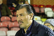 Lawrie Sanchez ahead of the FA Cup match at the Cherry Red Records Stadium, Kingston<br /> Picture by David Horn/Focus Images Ltd +44 7545 970036<br /> 05/01/2015