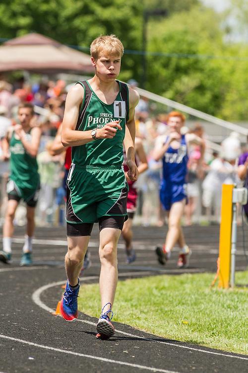 Maine State Track & Field Meet, Class B: boys 1600 meter walk,