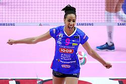 28-04-2017 ITA: Pomi Casalmaggiore - Igor Gorgonzola Novara, Cremona<br /> Semi Final playoff / BONIFACIO SARA<br /> <br /> ***NETHERLANDS ONLY***