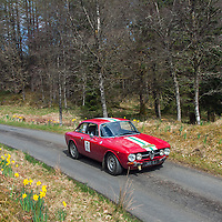 Car 40 John Evans / Adrian Evans Alfa Romeo Giulia Sprint GT