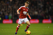 Nottingham Forest midfielder Ben Osborn (11) during the EFL Sky Bet Championship match between Nottingham Forest and Aston Villa at the City Ground, Nottingham, England on 4 February 2017. Photo by Jon Hobley.