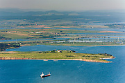 Aerial photographs of Burgas bay