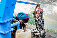 Van Gujjar kids are as helpful as they can be during the migration.