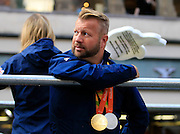 Lee Pearson during the Manchester Olympic Parade in Manchester, United Kingdom on 17 October 2016. Photo by Richard Holmes.