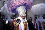 BEL, Belgium, Hainaut, Binche, carnival, the Gilles of Binche.....BEL, Belgien, Hennegau, Binche, Karneval, die Gilles....... ..