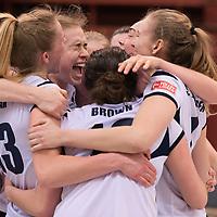 VBALL: 03-03-2017 - Elite Volley Aarhus - Amager VK - VolleyLigaen