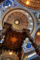 """Bernini's baldachin in St. Peter's Basilica""…<br />