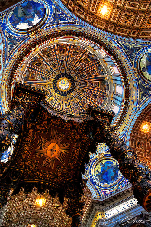 &ldquo;Bernini's baldachin in St. Peter's Basilica&rdquo;&hellip;<br />