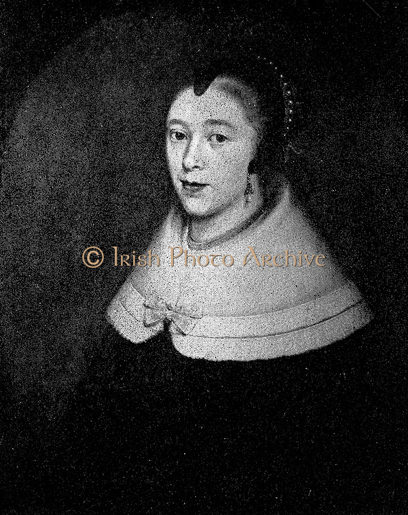 Maria De La Queillerie, the wife of Jan Van Riebeek, shared with him the hardships of pioneering in South Africa.  This portrait was painted when she was twenty one, shortly after her marriage.  She was a loving and pious helpmate.  She died at Malacca, only 35 years old.
