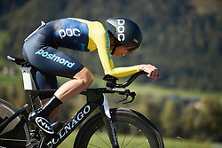 Emilia Fahlin (SWE) at UCI Road World Championships 2018 - Elite Women's ITT, a 27.7 km individual time trial in Innsbruck, Austria on September 25, 2018. Photo by Chris Auld/velofocus.com
