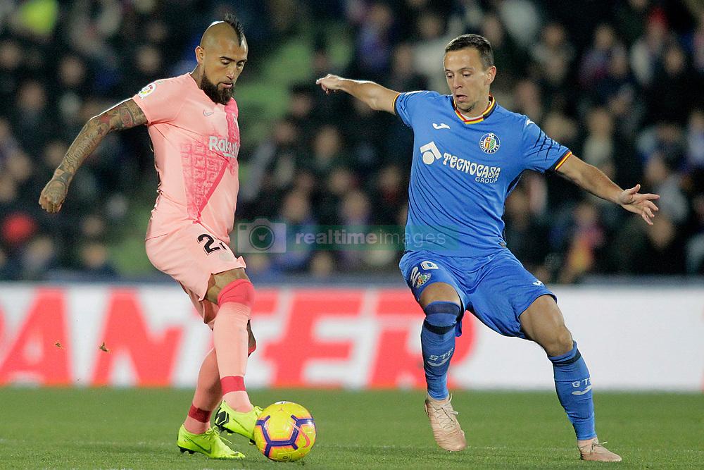 صور مباراة : خيتافي - برشلونة 1-2 ( 06-01-2019 ) 664964-006