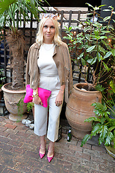 BECKY TONG at the Warner Music Group Summer Party in association with British GQ held at Shoreditch House, Ebor Street, London E2 on 8th July 2015.
