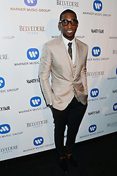 TINIE TEMPAH at the Warner Music Group & Belvedere BRIT Awards After Party held at The Savoy, London on 19th February 2014.