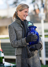 DEC 20 2014 The Countess of Wessex at Ascot Races