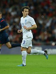 England's Leighton Baines (Everton) - Photo mandatory by-line: Alex James/JMP - Mobile: 07966 386802 - 3/09/14 - SPORT - FOOTBALL - London - Wembley Stadium - England v Norway - International Friendly