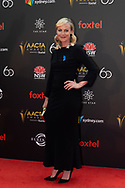 Marta Dusseldorp at The 2018 Australian Academy of Cinema and Television Arts (AACTA) Awards at The Star in Sydney, Australia
