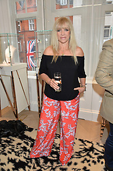 JO WOOD at a party to celebrate the launch of the new Stephen Webster Salon at 130 Mount Street, London on 18th May 2016.