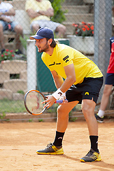 June 17, 2018 - L'Aquila, Italy - Giorgio Portaluri  during match between Zhizhen Zhang (CHN) and Giorgio Portaluri (ITA) during day 2 at the Internazionali di Tennis Citt dell'Aquila (ATP Challenger L'Aquila) in L'Aquila, Italy, on June 17, 2018. (Credit Image: © Manuel Romano/NurPhoto via ZUMA Press)