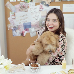 "Miranda Kerr releases a photo on Instagram with the following caption: ""See a glimpse of my @koraorganics LA office up on @mydomaine now (click link in bio!) \u2764\ufe0f"". Photo Credit: Instagram *** No USA Distribution *** For Editorial Use Only *** Not to be Published in Books or Photo Books ***  Please note: Fees charged by the agency are for the agency's services only, and do not, nor are they intended to, convey to the user any ownership of Copyright or License in the material. The agency does not claim any ownership including but not limited to Copyright or License in the attached material. By publishing this material you expressly agree to indemnify and to hold the agency and its directors, shareholders and employees harmless from any loss, claims, damages, demands, expenses (including legal fees), or any causes of action or allegation against the agency arising out of or connected in any way with publication of the material."