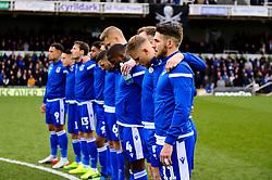 Minute silence  - Mandatory by-line: Dougie Allward/JMP - 07/12/2019 - FOOTBALL - Memorial Stadium - Bristol, England - Bristol Rovers v Southend United - Sky Bet League One