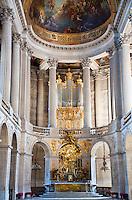Palace of Versailles. The Sun King's Chapel.