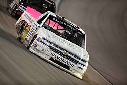 March 1, 2019 - Las Vegas, Nevada, U.S. - LAS VEGAS, NV - MARCH 01: Jennifer Jo Cobb (10) Chevrolet Silverado racing during the Gander Outdoors Truck Series Strat 200 race on March 1, 2019, at Las Vegas Motor Speedway in Las Vegas, NV. (Photo by David Allio/Icon Sportswire) (Credit Image: © David Allio/Icon SMI via ZUMA Press)
