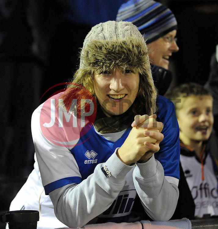 Bristol Rovers fan - Photo mandatory by-line: Neil Brookman/JMP - Mobile: 07966 386802 - 19/12/2014 - SPORT - football - Bristol - Memorial Stadium - Bristol Rovers v Gateshead  - Vanarama Conference