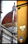 THE DUOMO, FLORENCE, ITALY.<br />