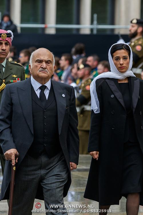 LUX/Luxemburg/20190504 -  Funeral<br /> of HRH Grand Duke Jean, Uitvaart Groothertog Jean, Prins El Hassan Bin Talal en prinses Sarvath en prinses Badiya van Jordanie