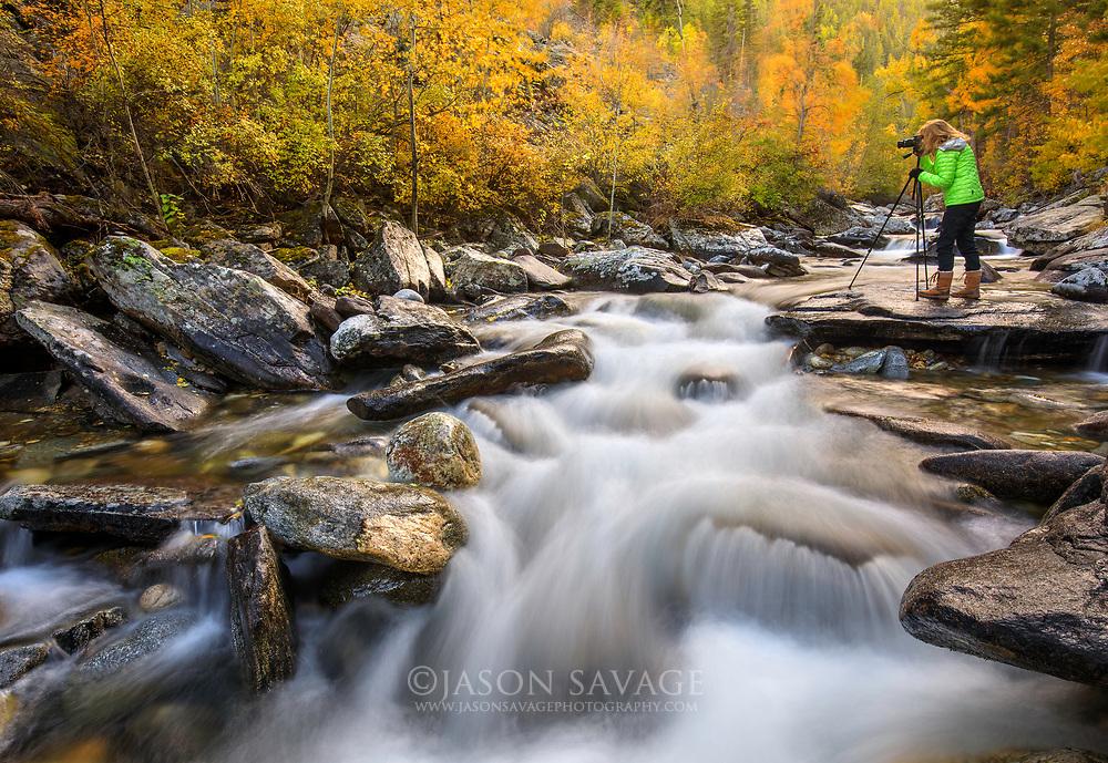 Kootenai Creek, Bitterroot Valley, Montana.