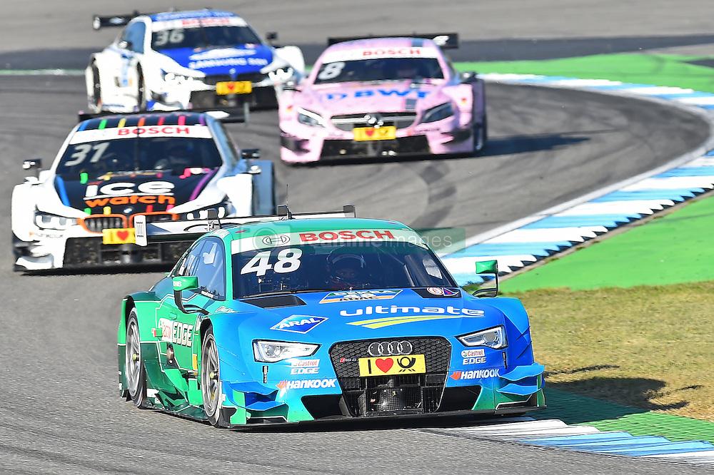 Vizemeister Edoardo Mortara (Audi Sport Team Abt Sportsline)  beim DTM Saisonfinale in Hockenheim<br /> <br />  / 161016<br /> <br /> ***German Touring Car Championship in Hockenheim, Germany, October 16, 2016 ***