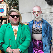 Jamie Windust attend Fashion Scout - SS19 - London Fashion Week Day 2, De Vere Grand Connaught Rooms, London, UK. 16 September 2018