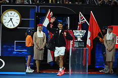 Australian Open: Men's Final - 28 Jan 2018