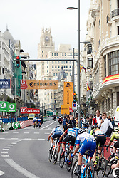 Chasing down the break at La Madrid Challenge by La Vuelta 2019 - Stage 2, a 98.6 km road race in Madrid, Spain on September 15, 2019. Photo by Sean Robinson/velofocus.com