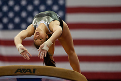 USA Gymnastics GK Classic - Schottenstein Center, Columbus, OH - July 28th, 2018. Olivia Hollngsworth competes in the beam  at the Schottenstein Center in Columbus, OH; in the USA Gymnastics GK Classic in the senior division. - Photo by Wally Nell/ZUMA Press