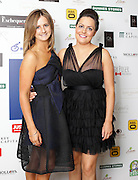 29/9/14***NO REPRO FEE***Pictured are Edwina Governey and Emma Barnes at the 11th Q Ball in aid of Spinal Injuries Ireland at The Ballsbridge Hotel last night Pic: Marc O'Sullivan